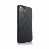 Animal Skins Hard Case Lizard  for iPhone 5/5S/SE - Black