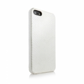 Animal Skins Hard Case Python White for iPhone 5/5S
