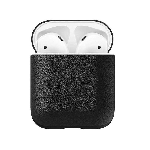 Чехол Nomad Rugged Case for Airpods Black Leather (NM72110000)