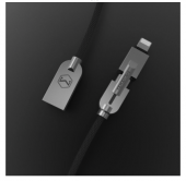 Кабель McDodo Knight Zinc Alloy Series Lightning + micro USB 1.2m