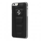 Чехол-накладка Ferrari 458 Real Leather Hard Case for iPhone 6/6S