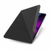 """Moshi VersaCover Case with Folding Cover for iPad Pro 12.9"""" (3rd/4th Gen), Charcoal Black (99MO056010)"""