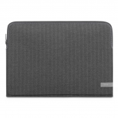 Конверт Moshi Pluma Designer Laptop Sleeve for MacBook Pro 15/16, Herringbone Gray (99MO104055)
