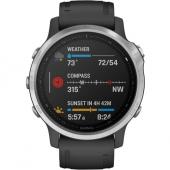 Спортивные часы Garmin Fenix 6X Carbon Gray DLC with Black Band (010-02157-20)
