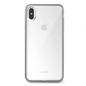 Чехол Moshi Vitros Slim Clear Case Jet Silver for iPhone XS Max