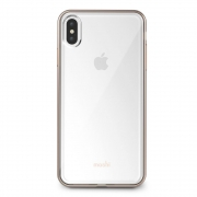 Чехол Moshi Vitros Slim Clear Case Champagne Gold for iPhone XS Max