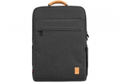 "Рюкзак WiWu Pioneer Backpack Black for MacBook 15"""