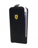 Ferrari Challenge flip case for iPhone 5/5S, full perforated [FECHFPFLP5]