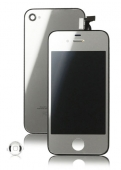 Дисплей LCD+ Touchscreen для iPhone 4 в сборе Copy Silver