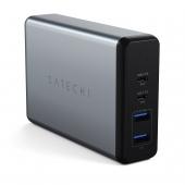 Сетевое зарядное устройство Satechi 108W Pro Type-C PD Desktop Charger, Space Gray (ST-TC108WM)