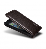 NavJack Vellum series leather flip case for iPhone 5/5S