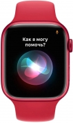 Apple Watch Series 7 45mm PRODUCT(RED) Aluminum Case with Red Sport Band MKN93UL/A