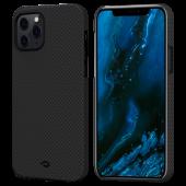 Pitaka MagEZ Case for iPhone 12 Pro Max, Plain Black/Grey (KI1202PM)