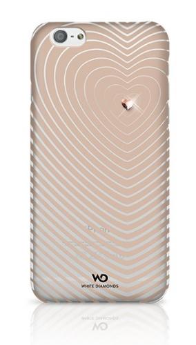 Накладка White Diamonds Heartbeat for iPhone 6/6S