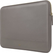 LAUT Prestige PU Sleeve for Macbook 13, Dark Grey (L_MB13_PRE_T)