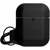 UAG Silicone Case for AirPods, Black/Black