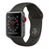 Apple Watch Series 3 GPS + Cellular 38mm Gray Aluminum c. w. Gray Sport b. (MTGH2)