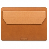 "Moshi Muse 13"" 3-in-1 Slim Laptop Sleeve for MacBook Pro 13""/MacBook Air 13"" Retina, Caramel Brown (99MO034751)"
