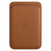 Apple Leather Wallet with MagSafe Saddle Brown (MHLT3)