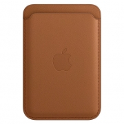 Apple Leather Wallet with MagSafe Saddle Brown (MHLR3)