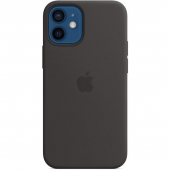 Apple Silicone Case with MagSafe for iPhone 12 Mini Black (MHKX3)