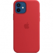 Apple Silicone Case for iPhone 12/12 Pro, Product Red (MHL63)