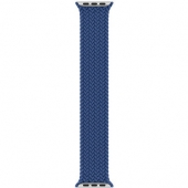 Apple Braided Solo Loop 44mm Atlantic Blue Size 7 (MY8E2)