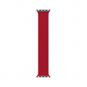 Apple Braided Solo Loop 44mm Product Red Size 11(MY942)