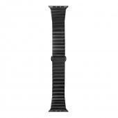 LAUT Links for Apple Watch 44/42mm, Black (L_AWL_LI_BK )
