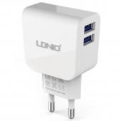 Зарядное устройство LDNIO Dual USB 2.1A (DL-AC56)