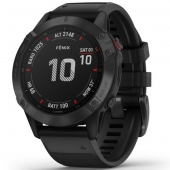 Смарт-часы Garmin Fenix 6 Pro Black with Black Band (010-02158-02)