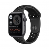 Apple Watch Nike SE 44mm GPS Space Gray Aluminum Case with Anthracite/Black Nike Sport Band (MYYK2)