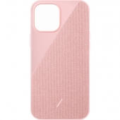 Чехол накладка Native Union Clic Canvas Case for iPhone 12/12 Pro, Rose (CCAV-ROS-NP20M)