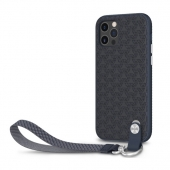 Чехол накладка Moshi Altra Slim Case with Wrist Strap for iPhone 12 Pro Max, Midnight Blue (99MO117009)