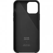 Чехол накладка Native Union Clic Canvas Case for iPhone 12 Mini, Slate (CCAV-BLK-NP20S)