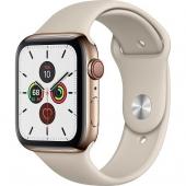 Apple Watch Series 5 LTE 44mm Gold Steel w. Stone b.- Gold Steel (MWW52/MWWH2)