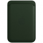 Apple Leather Wallet with MagSafe, Sequoia Green (MM0X3)