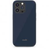Moshi iGlaze Slim Hardshell Case for iPhone 13 Pro, Slate Blue (99MO132533)