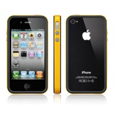 SGP Case Neo Hybrid 2S Vivid Series Reventon Yellow for iPhone 4/4S