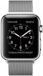 Часы Apple Watch Series 2 42mm Stainless Steel Case with Silver Milanese Loop (MNPU2)