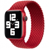 Apple Braided Solo Loop 40mm Size 5, Product Red (MY7K2)