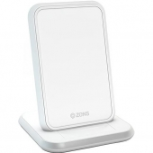 Zens Stand Aluminium Wireless Charger 10W, White (ZESC13W/00)