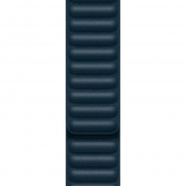 Apple Leather Link [L] for Watch 40/38mm, Baltic Blue (MY992)