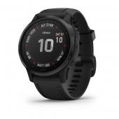 Спортивные часы Garmin Fenix 6S Pro Black With Black Band (010-02159-14/010-02159-13)