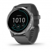 Смарт-часы Garmin vivoactive 4 Shadow Gray/Silver (010-02174-03/010-02174-01)