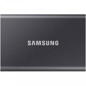 SSD накопитель Samsung T7 1 TB Titan Gray (MU-PC1T0T/WW)