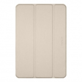 Macally Protective Case and Stand Brown for iPad 10.2, Gold (BSTAND7-GO)