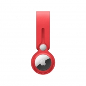 Apple AirTag Leather Loop Product Red (MK0V3)