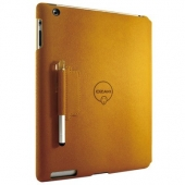 Ozaki Diverse colors of foldable case with stylus for iPad 2/3/4