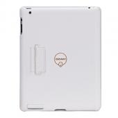 Ozaki iCoat cross pattern case for iPad 2/3/4, white [IC892AWH]